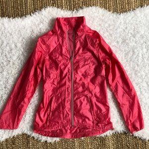 ZELLA Hot Pink Zip Up Windbreaker XS